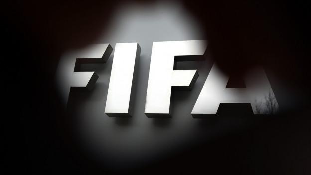 Fifa-Schriftzug am Sitz in Zürich