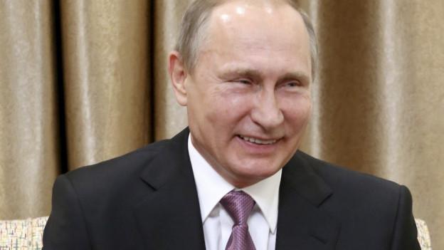 Russlands Präsident Vladimir Putin.