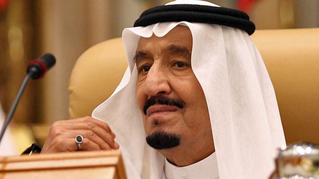 König Salman von Saudiarabien. Portraitbild.