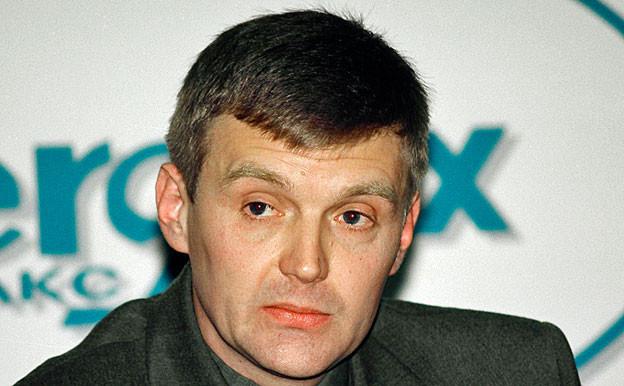 Alexander Litwinenko auf einem Bild von November 1998.