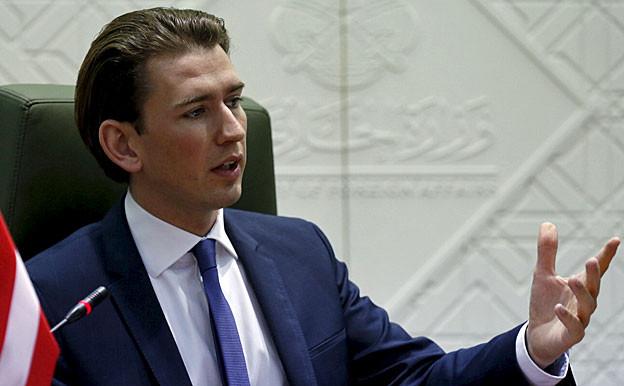 Sebastian Kurz, Österreichs junger Aussenminister.