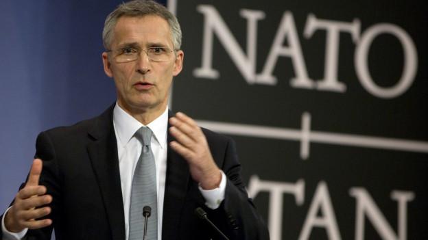 NATO-Generalsekretär Jens Stoltenberg.