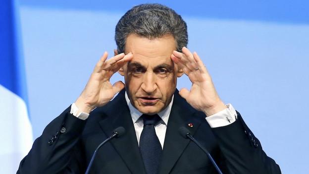 Der ehemalige französische Staatspräsident Nicolas Sarkozy.
