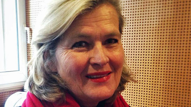 Ursula Plassnik. Portraitbild.