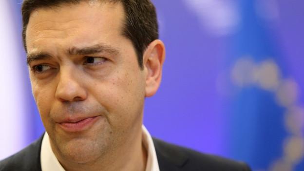 Griechenlands Regierungschef Tsipras.