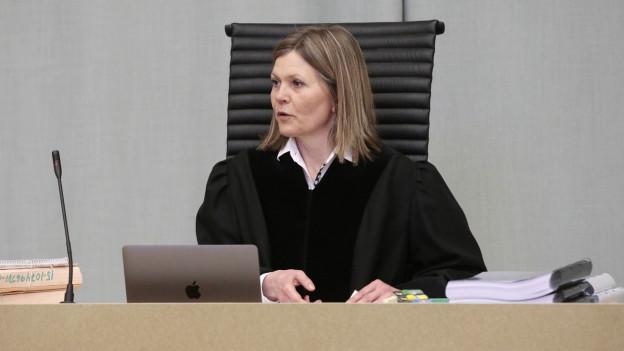 Richterin im Gericht nahe Oslo.