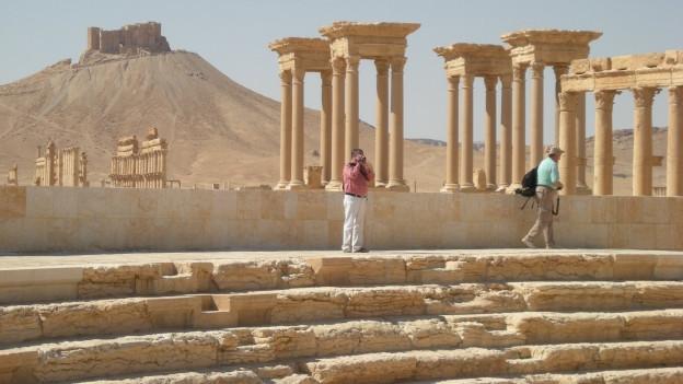 Das antike Palmyra im Frühling 2009.