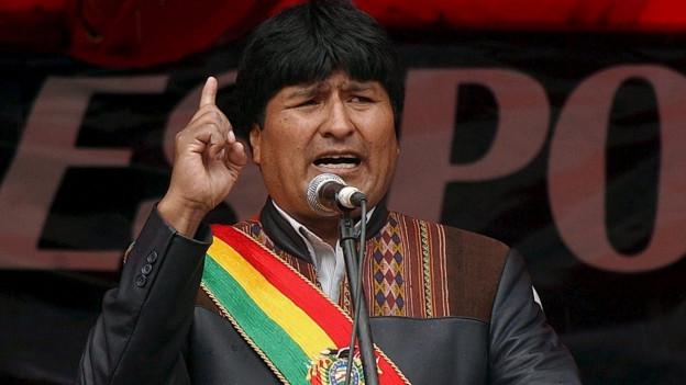 Der bolivianische Präsident Evo Morales.