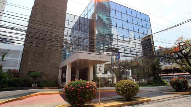 Das Foto zeigt das Gebäude der Anwaltskanzlei Mossack Fonseca in Panama City.
