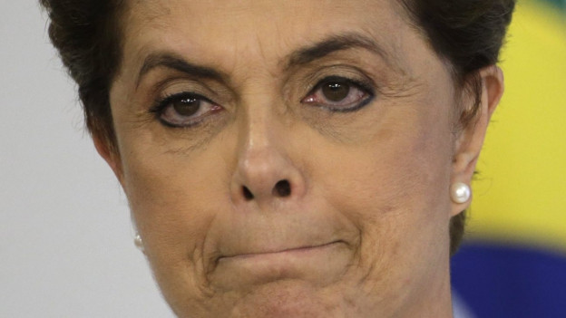 Brasiliens Staatschefin Dilma Rousseff.