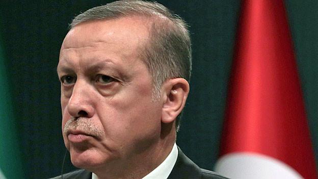 Der türkische Präsident Erdogan.