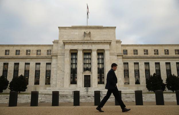 Zu sehen ist die US-Notenbank in Washington.