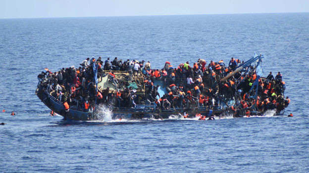 Insgesamt haben seit Anfang des Jahres 2016 mindestens 2510 Menschen bei der Flucht über das Mittelmeer ihr Leben verloren.