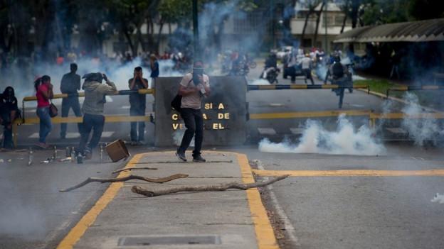 Proteste in Venezuela gehören fast schon zur Tagesordnung.