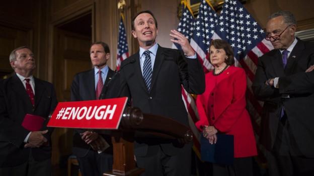 Der demokratische US-Senator Chris Murphy.