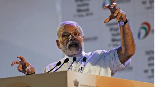 Indiens Ministerpräsident Narendra Modi lancierte vor einem Jahr die Kampagne «Digital India». Mit diesem Programm will seine Regierung den Umbau des Landes von der Agrar- zur Dienstleistungswirtschaft beschleunigen und den Zugang zum Breitbandinternet in den ländlichen Gebieten verbessern.