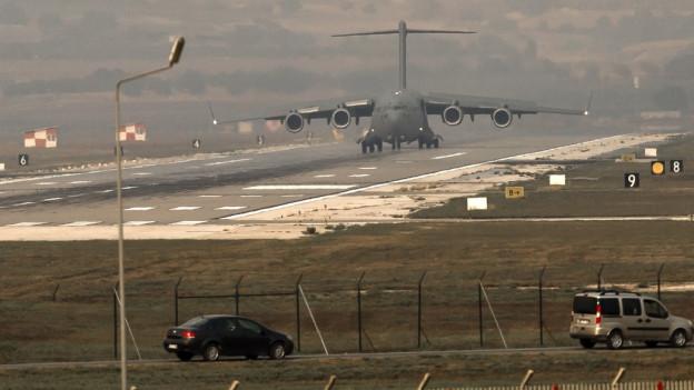 Zu sehen ist der Luftwaffenstützpunkt Incirlik in der Südtürkei. Ein Stützpunkt, der für die Nato strategisch wichtig ist.