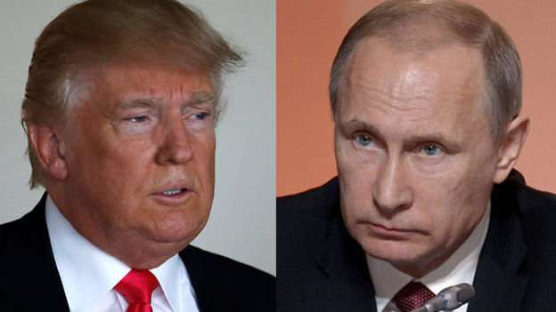 Donald Trump (links) und Vladimir Putin.