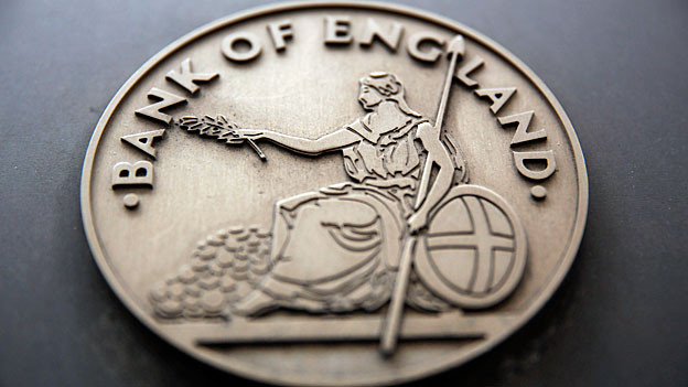 Logo der «Bank of England».
