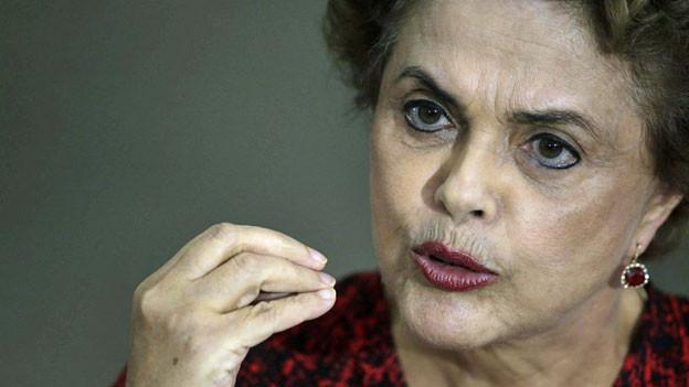 Gegen die brasilianische Präsidentin Dilma Rousseff läuft ein Amtserhebungsverfahren.