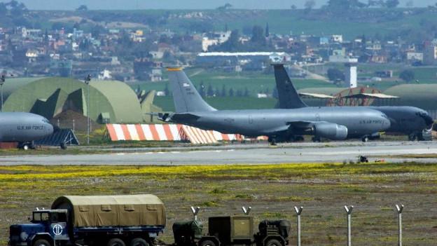 Auf dem Luftwaffenstützpunkt Incirlik sollen amerikanische Atomwaffen lagern.