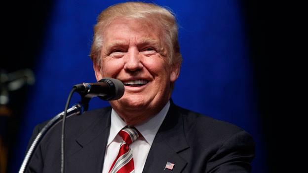 Der republikanische Präsidentschaftskandidat Donald Trump am 13. September 2016 in Clive, Iowa.