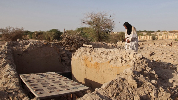 Zerstörstes Grab in Timbuktu