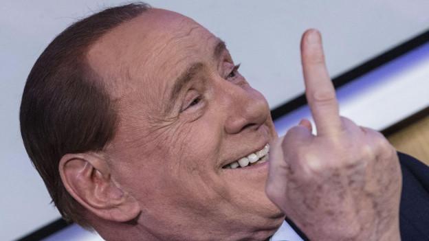 Silvio Berlusconi wird 80 Jahre alt. Sein Einfluss auf die Politik war auch schon grösser