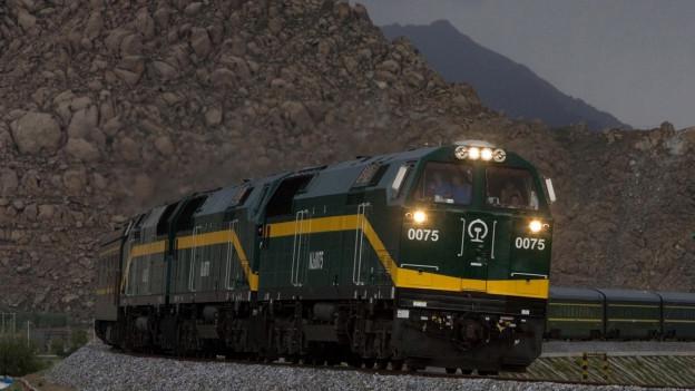 Die «neue» Seidenstrasse: Gütertransporte per Bahn von China nach Europa