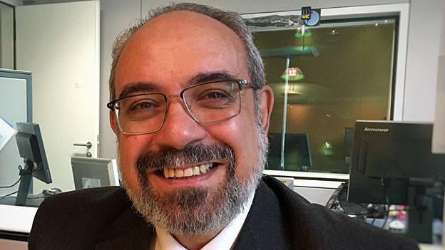Tamer Abdoalenin. Portraitbild.
