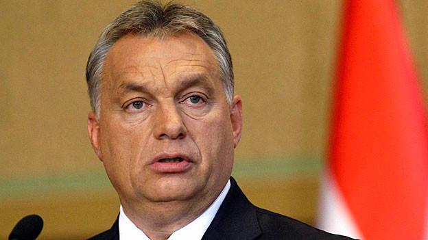 Viktor Orban. Portraitbild.