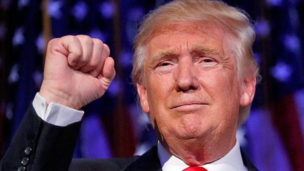 Donald Trump. Portraitbild.