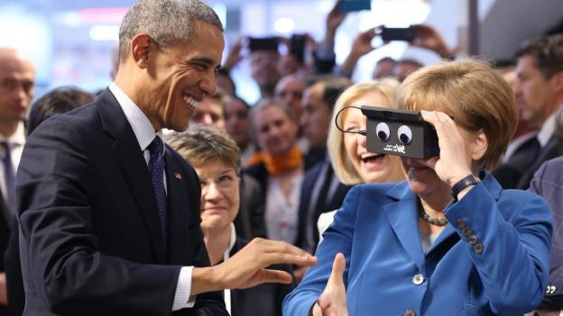 Verstehen sich gut: Barack Obama und Angela Merkel