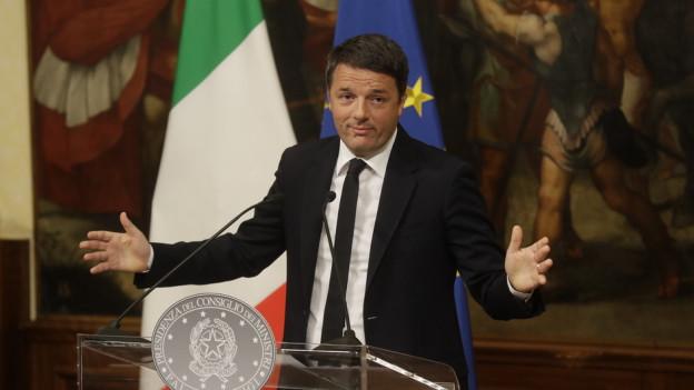 Italiens Ministerpräsident Renzi räumt nach verlorenem Verfassungsreferendum seinen Posten.