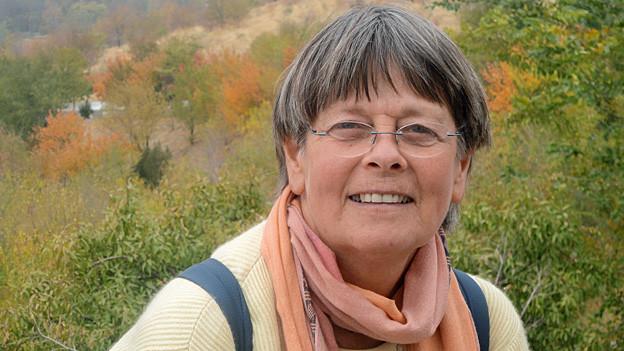Erika Widmer. Portraitbild.