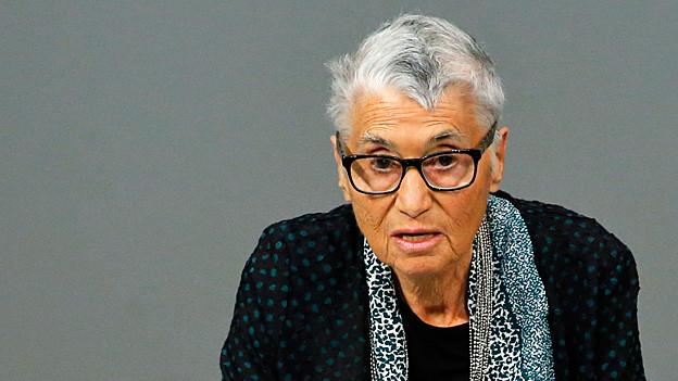 Ruth Klüger. Portraitbild.