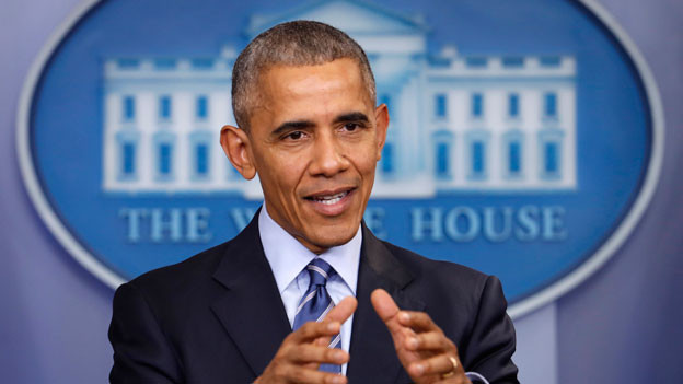 Präsident Barack Obama hat Sanktionen wegen Einmischung Russlands in die US-Präsidentschaftswahl verhängt.
