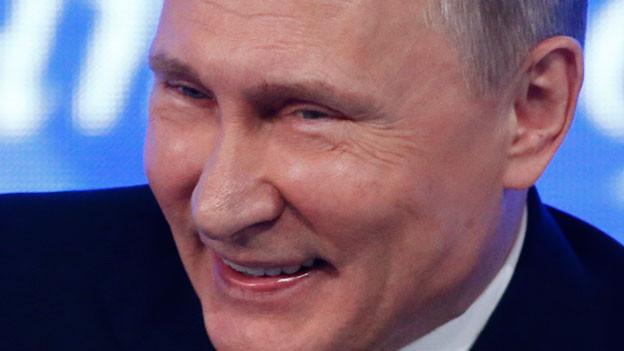Russlands Präsident Wladimir Putin weist vorerst keine US-Diplomaten aus.