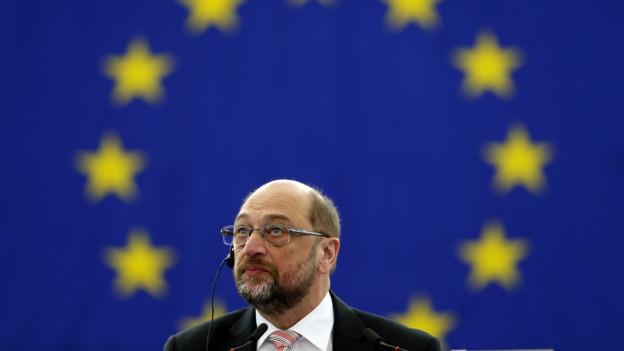 Martin Schulz ist als Präsident des EU-Parlaments abgetreten - heute wird sein Nachfolger gewählt.