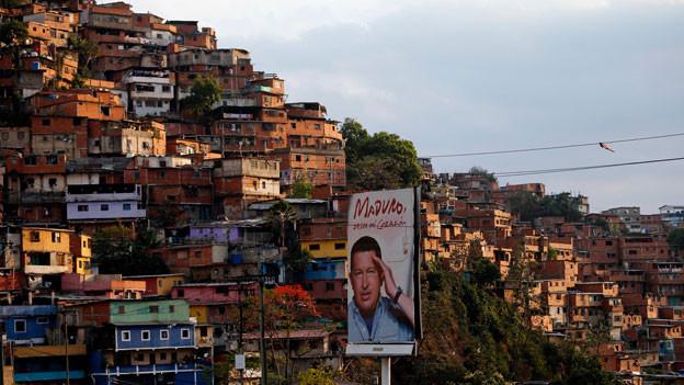 Auch in der Armensiedlung Petare sind viele von Präsident Maduro enttäuscht.