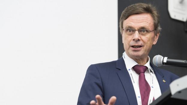 Regierungsrat Hans-Jürg Käser
