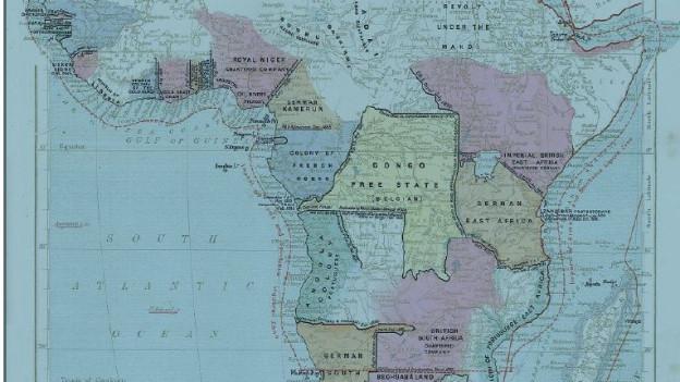 So wurde Afrika Ende des 19. Jahrhunderts aufgeteilt.