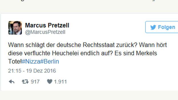 Markus Pretzell ist Chef der rechtspopulistischen Alternative für Deutschland, AfD, in Nordrhein-Westfalen.