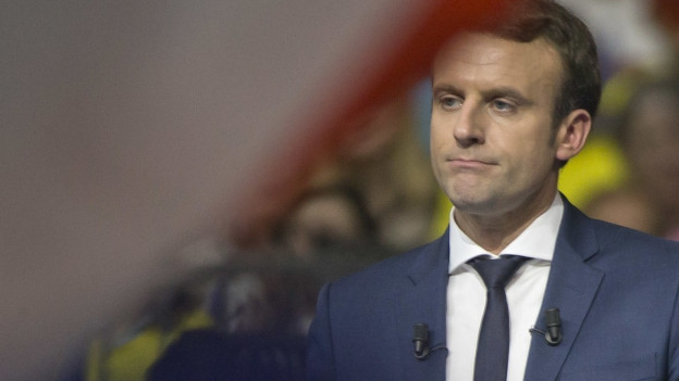 Emmanuel Macron am 4. Ferbruar 2017