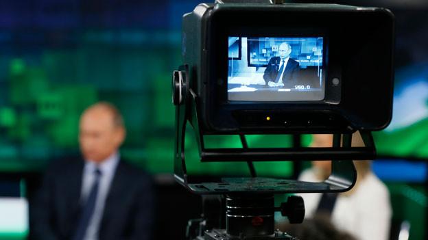 Russia Today, kurz «RT», ist das Medium, mit dem der Kreml seine Sicht auf die Dinge in die Welt hinaussendet.
