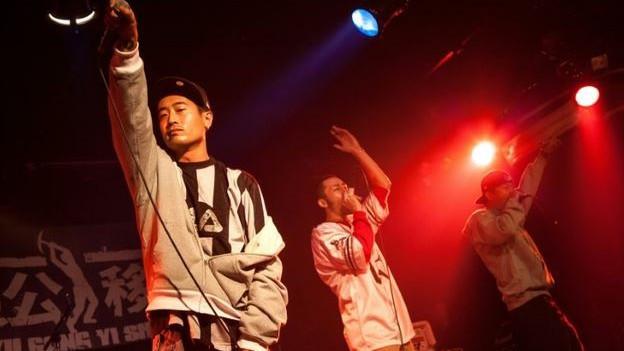 Ein Auftritt der unterdessen aufgelösten Band IN3 in Peking im September 2010