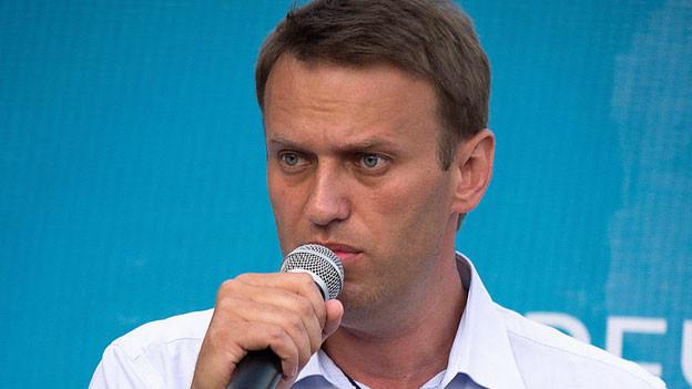 Der russische Oppositionelle Alexej Nawalny muss ins Gefängnis.