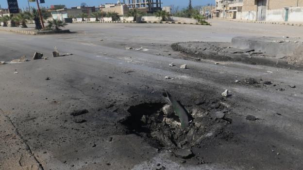 Während in Brüssel über Syrien verhandelt wird, wird in Syrien weiter gebombt.
