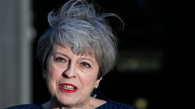 Premierministerin Theresa May will sich mehr Rückendeckung für die Verhandlungen über den EU-Austritt holen.