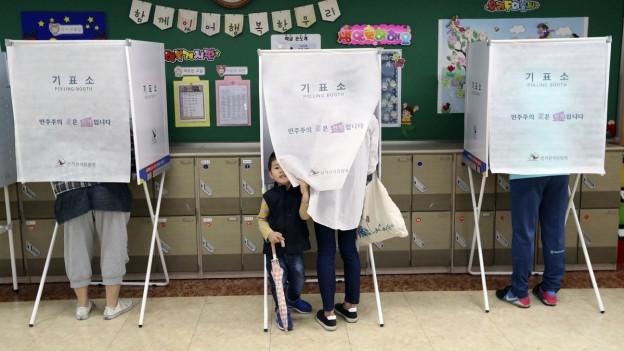 Kann es der liberale Favorit Moon Jae-in diesmal schaffen?